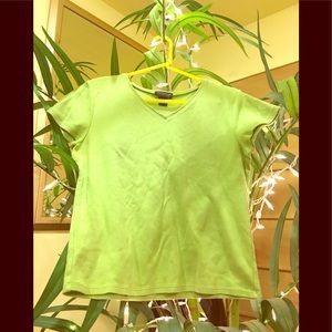 Green Ann Taylor T-shirt